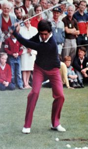 Seve Ballesteros in 1983